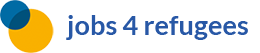 jobs 4 refugees Logo