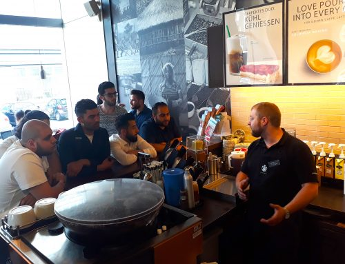 refugees@work – Workshop zum Thema 'Systemgastronomie' in Partnerschaft mit dem IRC und Starbucks